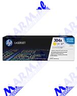HP oryginalny toner CC532A; HP 304A; 2800s; Hewlett-Packard; Color LaserJet CP2025; CM2320s-yellow