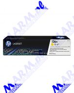 HP oryginalny toner CE312A; HP 126A; 1000s; Hewlett-Packard; LaserJet Pro CP1025; 1025nw; MFP M175s-yellow