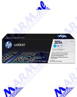 HP oryginalny toner CE411A; HP 305A; 2600s; Hewlett-Packard; Color LaserJet Pro M375NW; Pro M475DN; M451dns-cyan