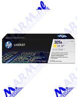 HP oryginalny toner CE412A; HP 305A; HP Color LaserJet Pro M375NW; Pro M475DN; M451dn; 2600s; Hewlett-Packard-yellow