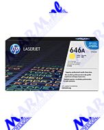 HP oryginalny toner CF032A; HP 646A; 12500s; Hewlett-Packard; Color LaserJet CM4540; 4540f; 4540fskms-yellow