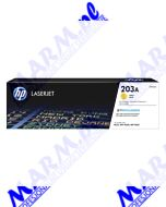HP oryginalny toner CF542A; HP 203A; HP Color LaserJet Pro M254dw; nw; M280nw; 1300s; Hewlett-Packard-yellow