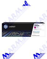 HP oryginalny toner CF543A; HP 203A; HP Color LaserJet Pro M254dw; nw; M280nw; 1300s; Hewlett-Packard-magenta