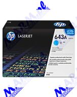 HP oryginalny toner Q5951A; HP 643A; 10000s; Hewlett-Packard; Color LaserJet 4700; n; dn; dtn; ph+s-cyan