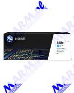 HP oryginalny toner W2001X; HP 658X; high capacity; HP Color LaserJet Enterprise M751 Series; 28000s; Hewlett-Packard-cyan