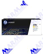 HP oryginalny toner W2002A; HP 658A; 6000s; Hewlett-Packard; Color LaserJet Enterprise M751 Seriess-yellow