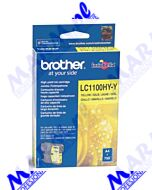Brother oryginalny ink / tusz LC-1100HYY; high capacity; 750s; Brother; DCP-6690CW; MFC-6490CWs-yellow