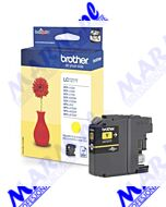 Brother oryginalny ink / tusz LC-121Y; 300s; Brother; DCP-J552DW; MFC-J470DWs-yellow