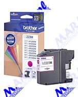 Brother oryginalny ink / tusz LC-223M; Brother MFC-J4420DW; MFC-J4620DW; 600s; Brother-magenta