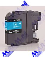 Brother oryginalny ink / tusz LC-525XLC; 1300s; Brother; DCP J100; DCP J105; MFCJ200s-cyan