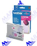 Brother oryginalny ink / tusz LC-970M; 300s; Brother; DCP-135C; 150C; MFC-235C; 260Cs-magenta