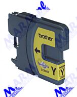 Brother oryginalny ink / tusz LC-980Y; 260ml; Brother DCP-145C; 165C; Brother-yellow