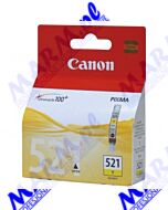 Canon oryginalny ink / tusz CLI521Y; 2936B001; 505s; Canon; iP3600; iP4600; MP620; MP630; MP980s-9ml-yellow