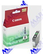 Canon oryginalny ink / tusz CLI8G; 0627B001; 420s; Canon; pro9000s-13ml-green