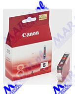 Canon oryginalny ink / tusz CLI8R; 0626B001; 420s; Canon; pro9000s-13ml-red