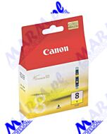 Canon oryginalny ink / tusz CLI8Y; 0623B001; 490s; Canon; iP4200; iP5200; iP5200R; MP500; MP800s-13ml-yellow