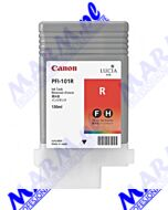 Canon oryginalny ink / tusz PFI101R; 0889B001; Canon; iPF-5000s-130ml-red
