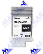 Canon oryginalny ink / tusz PFI106MBk; 6620B001; Canon; iPF-6300s-130ml-matte black