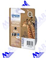 Epson oryginalny ink / tusz C13T07114H10; Epson; Stylus D120; 120 Network Edition; DX7400; 8400; 94s-2x11.1ml-black