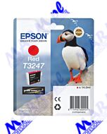 Epson oryginalny ink / tusz C13T32474010; Epson; SureColor SC-P400s-14ml-red