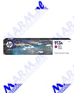 HP oryginalny ink / tusz F6T78AE; HP 913A; 3000s; Hewlett-Packard; PageWide 325; 377; Pro 452; Pro 477s-35.5ml-magenta
