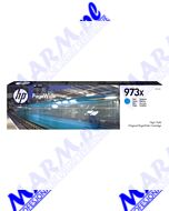 HP oryginalny ink / tusz F6T81AE; HP 973X; 7000s; Hewlett-Packard; PageWide Pro 452; Pro 477s-82ml-cyan