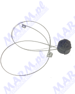 PULLEY DRIVE WIRE ASS'Y A293-6684 RICOH