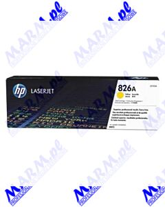 HP oryginalny toner CF312A; HP 826A; 31500s; Hewlett-Packard; Color LaserJet Enterprise M855dn; M855x+; M855x+s-yellow