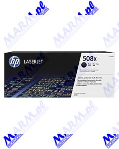 HP oryginalny toner CF360X; HP 508X; high capacity; 12500s; Hewlett-Packard; Color LaserJet Enterprise M552dn; M553dn; 553n; 553xs-black