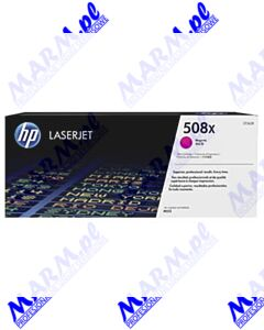HP oryginalny toner CF363X; HP 508X; high capacity; 9500s; Hewlett-Packard; Color LaserJet Enterprise M552dn; M553dn; 553n; 553xs-magenta