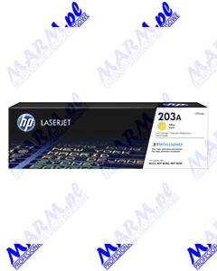 HP oryginalny toner CF542A; HP 203A; 1300s; Hewlett-Packard; Color LaserJet Pro M254dw; nw; M280nws-yellow