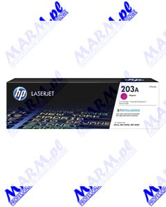 HP oryginalny toner CF543A; HP 203A; 1300s; Hewlett-Packard; Color LaserJet Pro M254dw; nw; M280nws-magenta