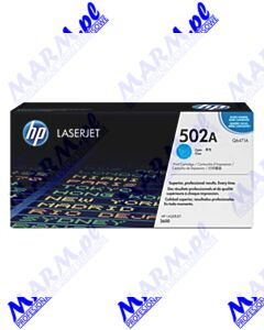 HP oryginalny toner Q6471A; HP 502A; 4000s; Hewlett-Packard; Color LaserJet 3600; n; dn; dtns-cyan