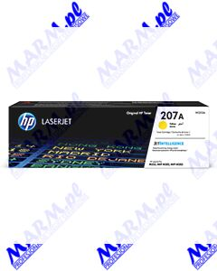 HP oryginalny toner W2212A; HP 207A; 1250s; Hewlett-Packard; Color LaserJet Pro M255; MFP M282; M283s-yellow