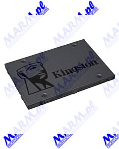 "Dysk SSD wewnętrzny Kingston 2.5""; SATA III; 240GB; A400; SA400S37/240G 500 MB/s; 540 MB/s; Kingston-black"