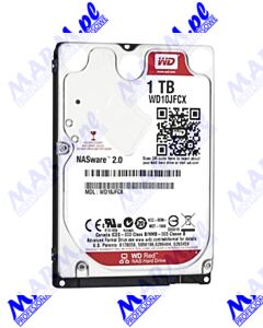 "Dysk NAS; Western Digital; 2.5""; 1000GB; 1TB; WD Red; SATA III; IntelliPower; WD10JFCX; Western Digital"