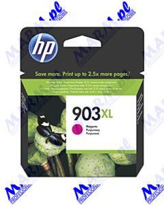 HP oryginalny ink / tusz T6M07AE; HP 903XL; high capacity; 825s; Hewlett-Packard; OfficeJet 6962; Pro 6960; 6961; 6963; 6964; 6965; 69s-9.5ml-magenta