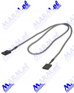 Audio Kabel Audio kabel; 4 pin F- 4 pin F; 0.6m; szary; Logo; Logo-grey