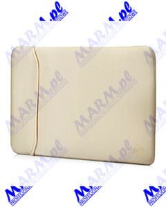 "Sleeve na notebook 15; 6""; Reversible; złoty / czarny; neopren; HP; Hewlett-Packard-black/gold fluor"