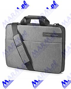 "Torba na notebook 15.6""; Signature II Slim Topload; szara; poliester; HP; Hewlett-Packard-grey"
