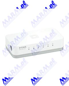 D-LINK switch GO-SW-5E 100Mbps; plug-and-play; D-LINK